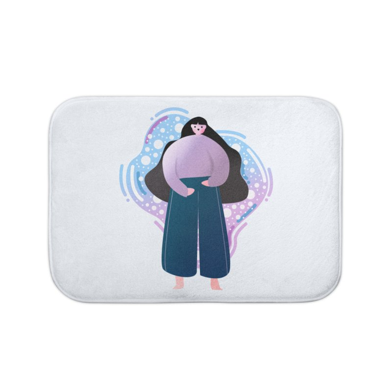 Magic Home Bath Mat by theladyernestember's Artist Shop