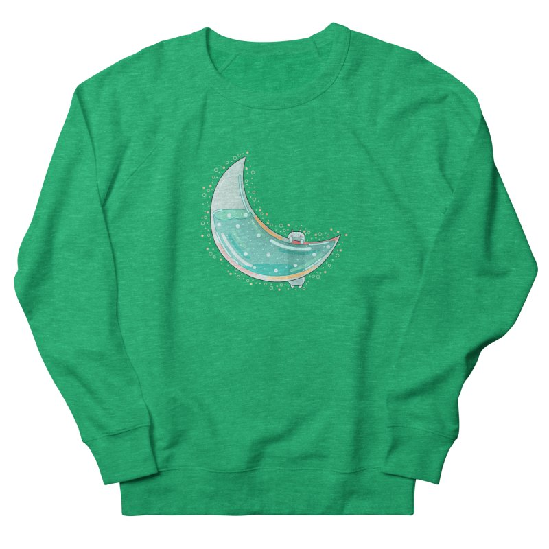 Cat Moon Women's Sweatshirt by theladyernestember's Artist Shop