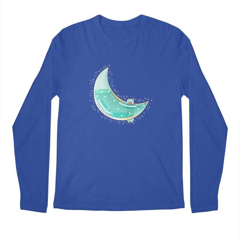 Cat Moon Men's Longsleeve T-Shirt by theladyernestember's Artist Shop