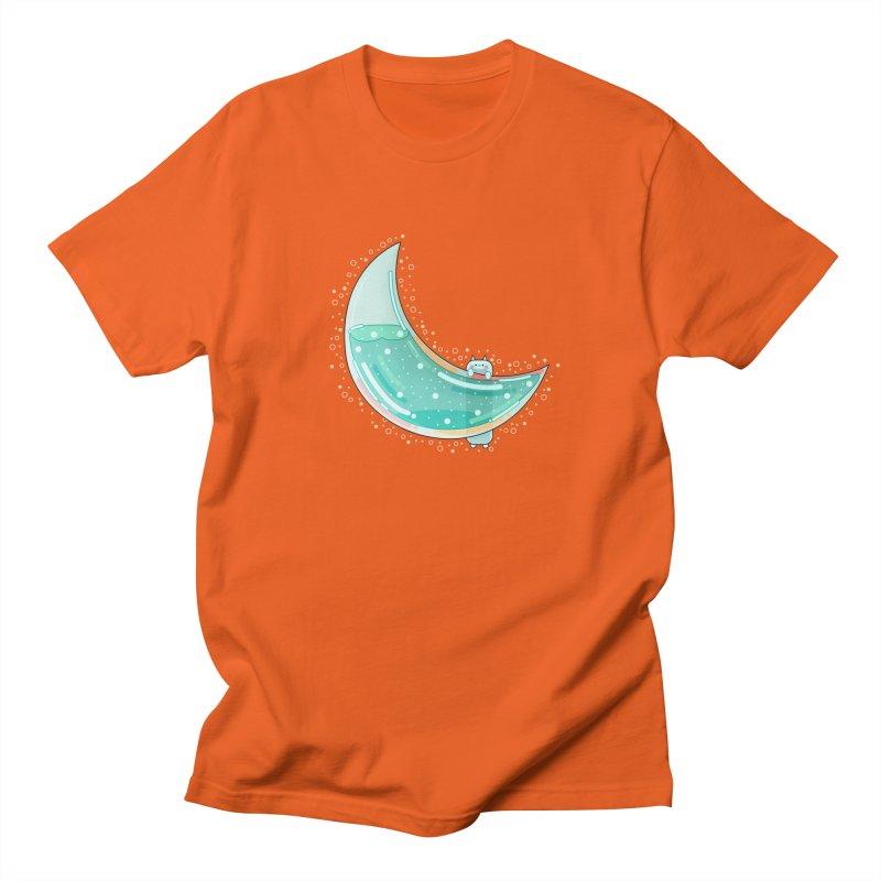 Cat Moon Women's Regular Unisex T-Shirt by the lady ernest ember's Artist Shop