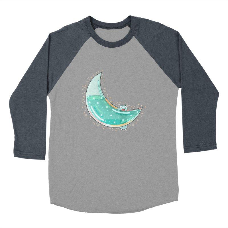 Cat Moon Women's Baseball Triblend Longsleeve T-Shirt by theladyernestember's Artist Shop