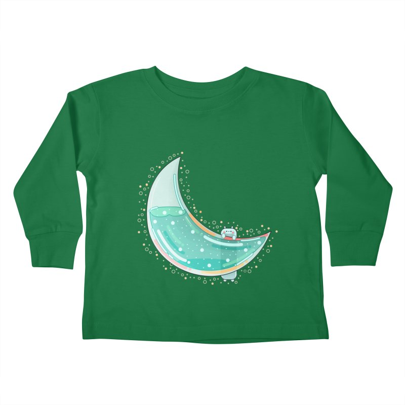 Cat Moon Kids Toddler Longsleeve T-Shirt by theladyernestember's Artist Shop