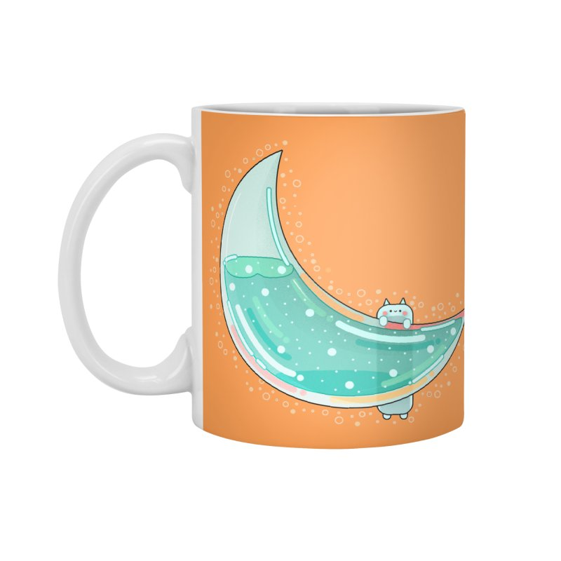 Cat Moon Accessories Mug by theladyernestember's Artist Shop