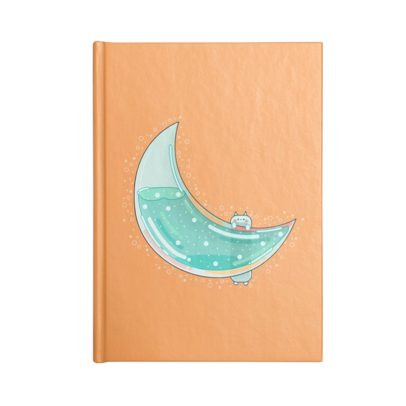 Cat Moon Accessories Notebook by theladyernestember's Artist Shop
