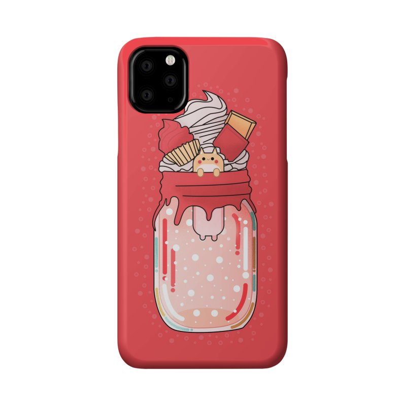 Cat dessert Accessories Phone Case by theladyernestember's Artist Shop