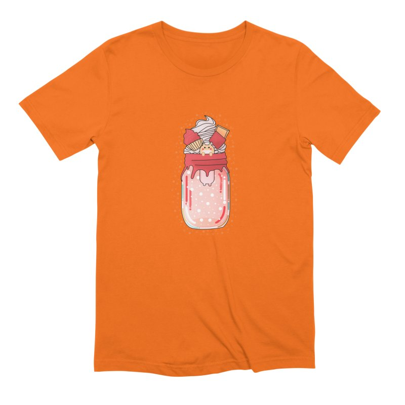 Cat dessert Men's T-Shirt by theladyernestember's Artist Shop