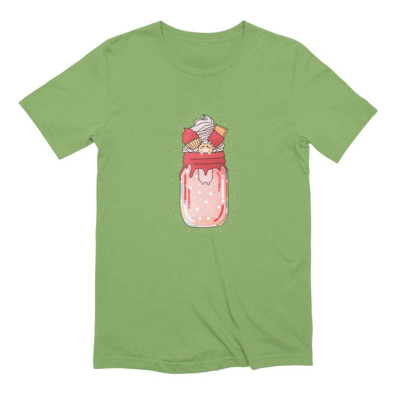 Cat dessert Men's T-Shirt by theladyernestember's Artist Shop