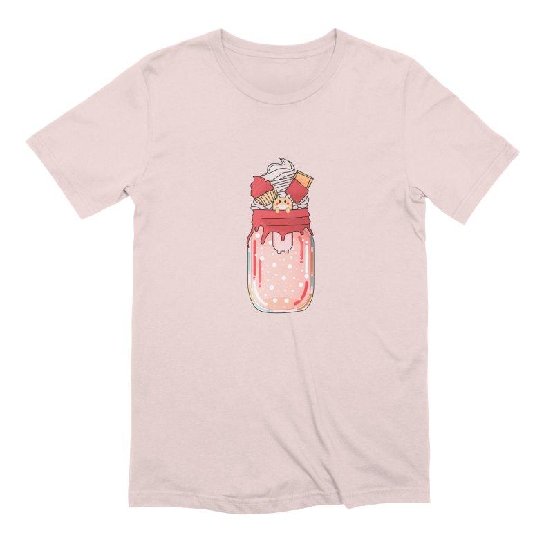 Cat dessert Men's Extra Soft T-Shirt by theladyernestember's Artist Shop