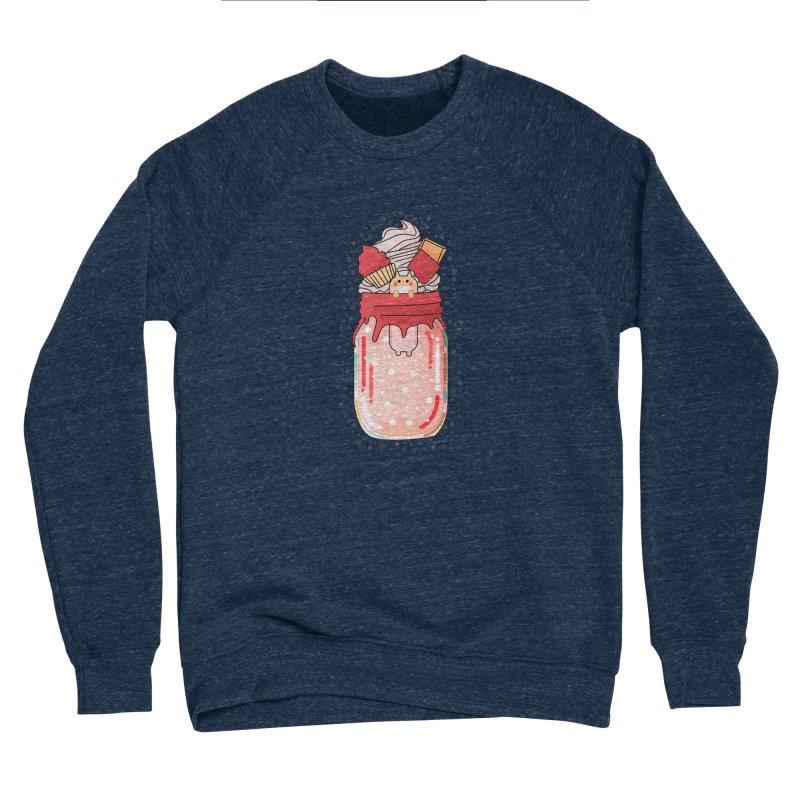 Cat dessert Men's Sponge Fleece Sweatshirt by the lady ernest ember's Artist Shop