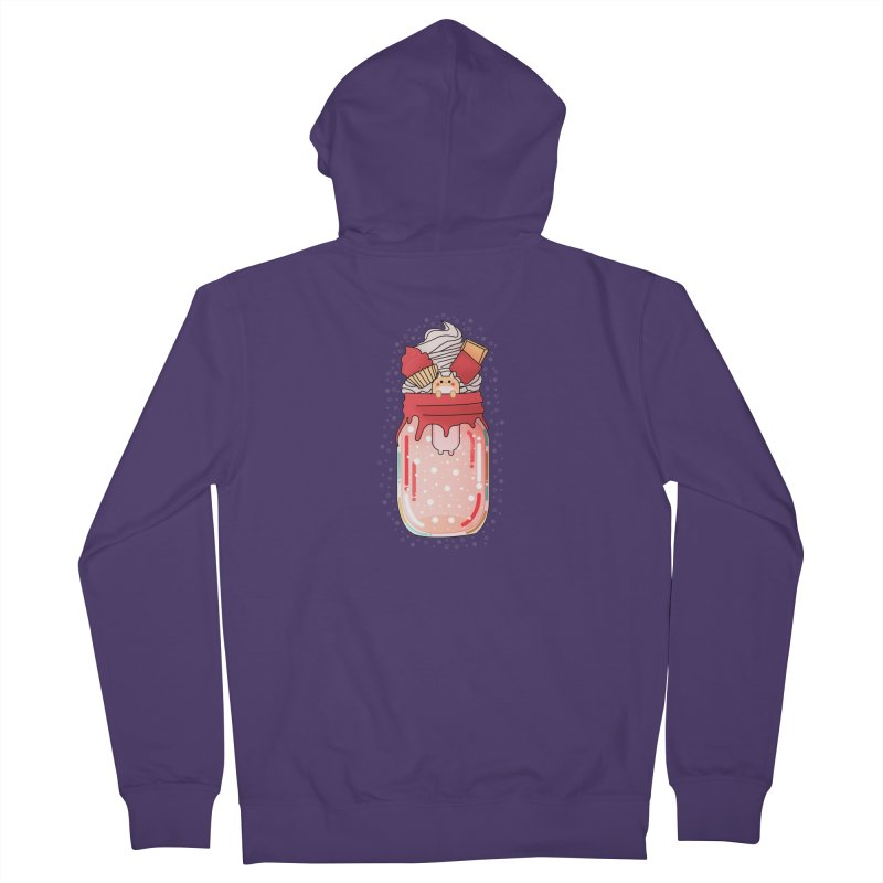 Cat dessert Women's Zip-Up Hoody by theladyernestember's Artist Shop