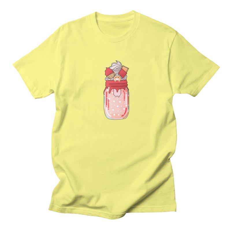 Cat dessert Women's Regular Unisex T-Shirt by the lady ernest ember's Artist Shop