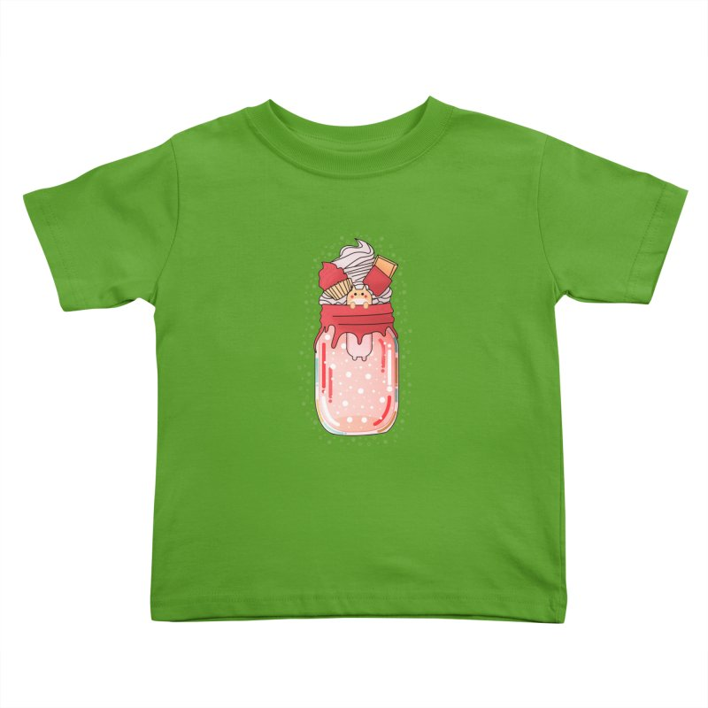 Cat dessert Kids Toddler T-Shirt by theladyernestember's Artist Shop
