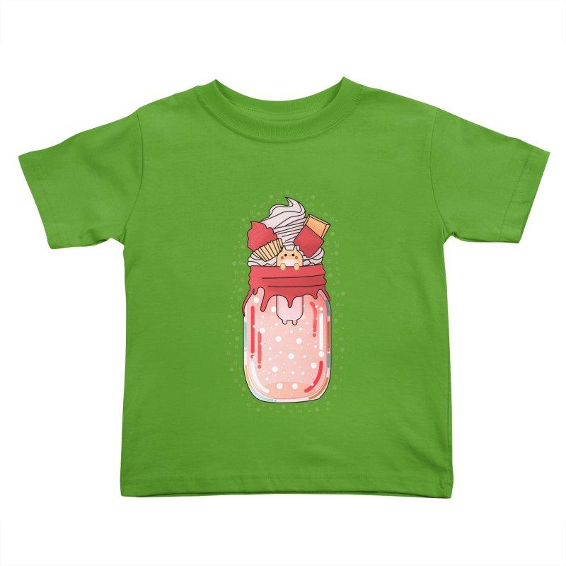 Cat dessert Kids Toddler T-Shirt by theladyernestember's Artist Shop