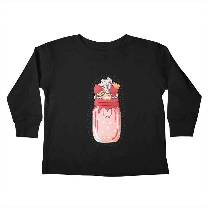 Cat dessert Kids Toddler Longsleeve T-Shirt by theladyernestember's Artist Shop