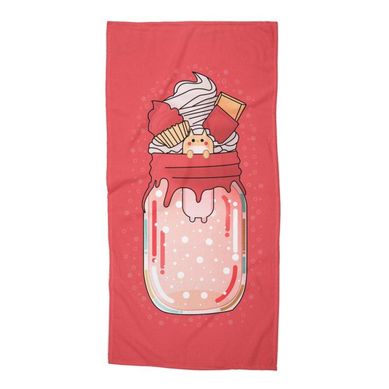 Cat dessert Accessories Beach Towel by the lady ernest ember's Artist Shop