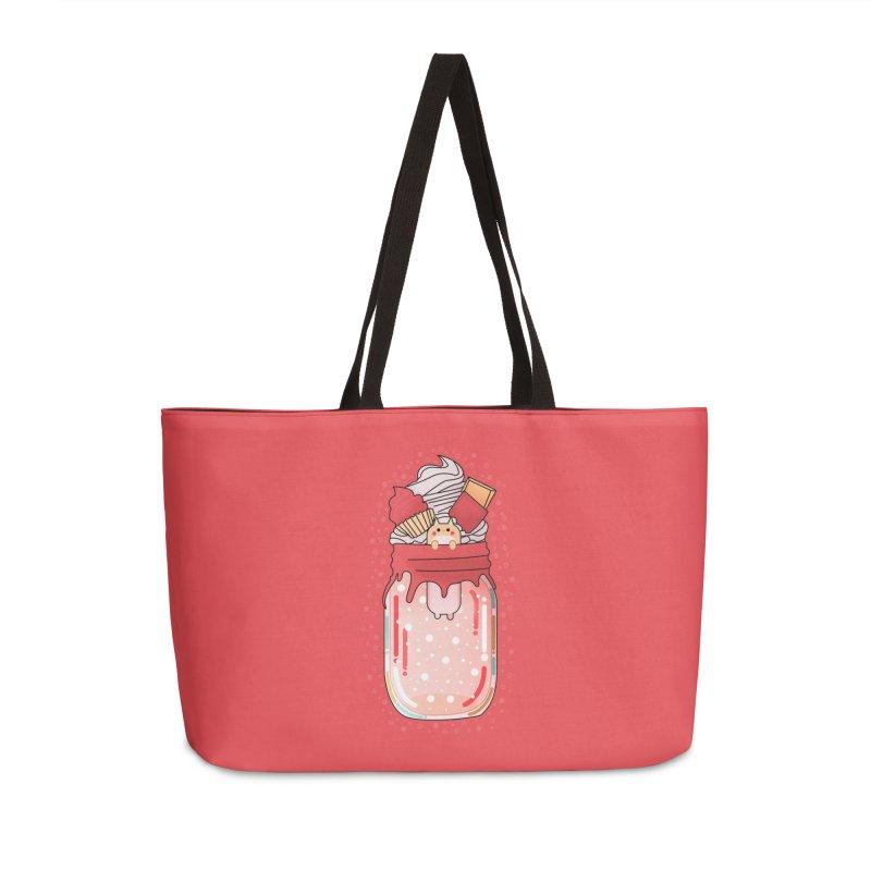 Cat dessert Accessories Weekender Bag Bag by theladyernestember's Artist Shop