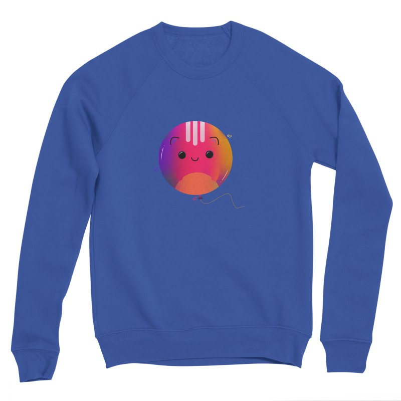 Cat Balloon Men's Sweatshirt by theladyernestember's Artist Shop