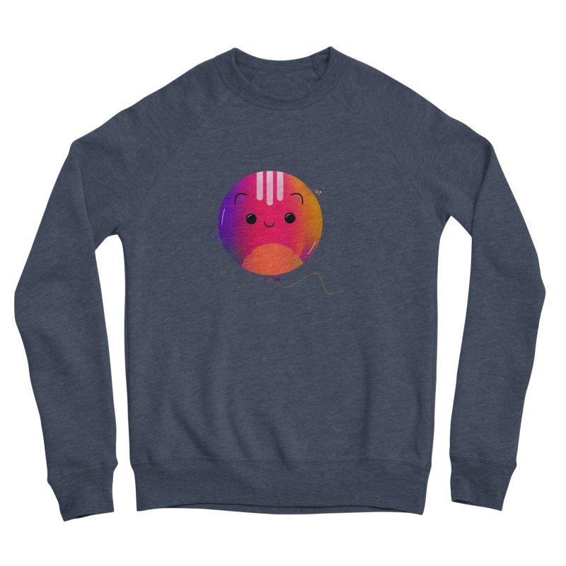 Cat Balloon Men's Sponge Fleece Sweatshirt by the lady ernest ember's Artist Shop