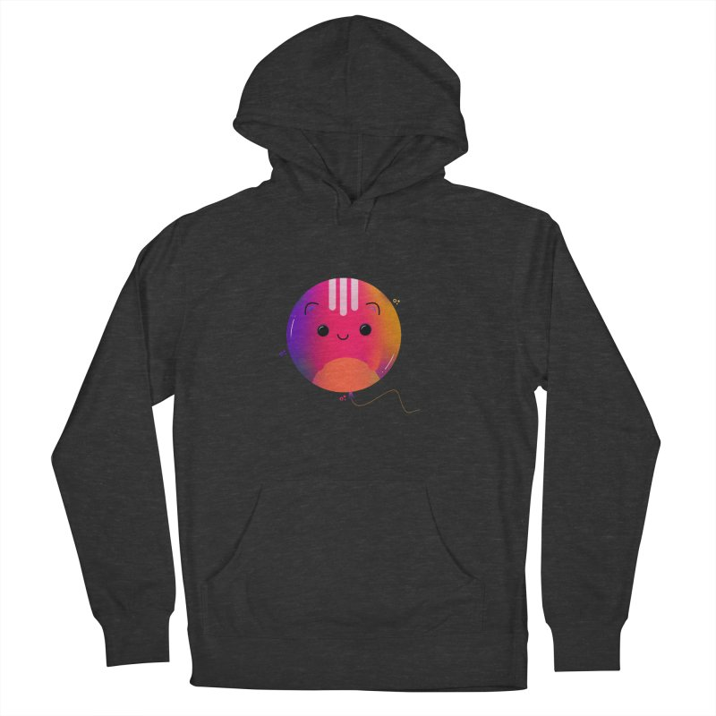 Cat Balloon Men's French Terry Pullover Hoody by theladyernestember's Artist Shop