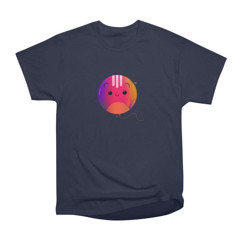 Cat Balloon Women's Heavyweight Unisex T-Shirt by the lady ernest ember's Artist Shop
