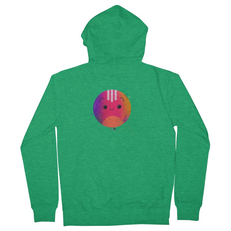 Cat Balloon Men's Zip-Up Hoody by theladyernestember's Artist Shop
