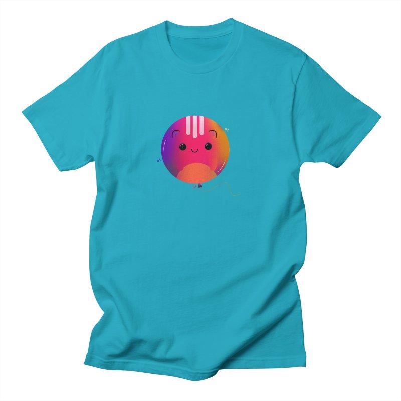 Cat Balloon Women's Regular Unisex T-Shirt by the lady ernest ember's Artist Shop