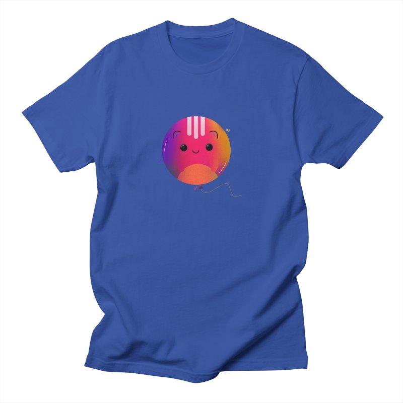 Cat Balloon Men's Regular T-Shirt by theladyernestember's Artist Shop