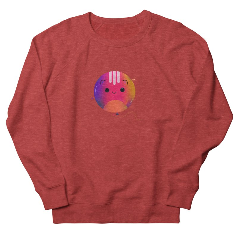 Cat Balloon Women's French Terry Sweatshirt by the lady ernest ember's Artist Shop