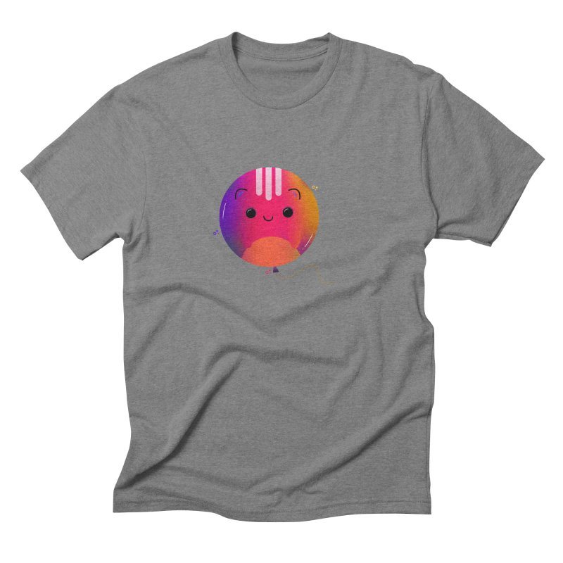 Cat Balloon Men's Triblend T-Shirt by the lady ernest ember's Artist Shop