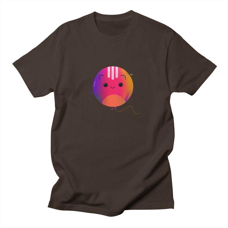 Cat Balloon Men's T-Shirt by theladyernestember's Artist Shop