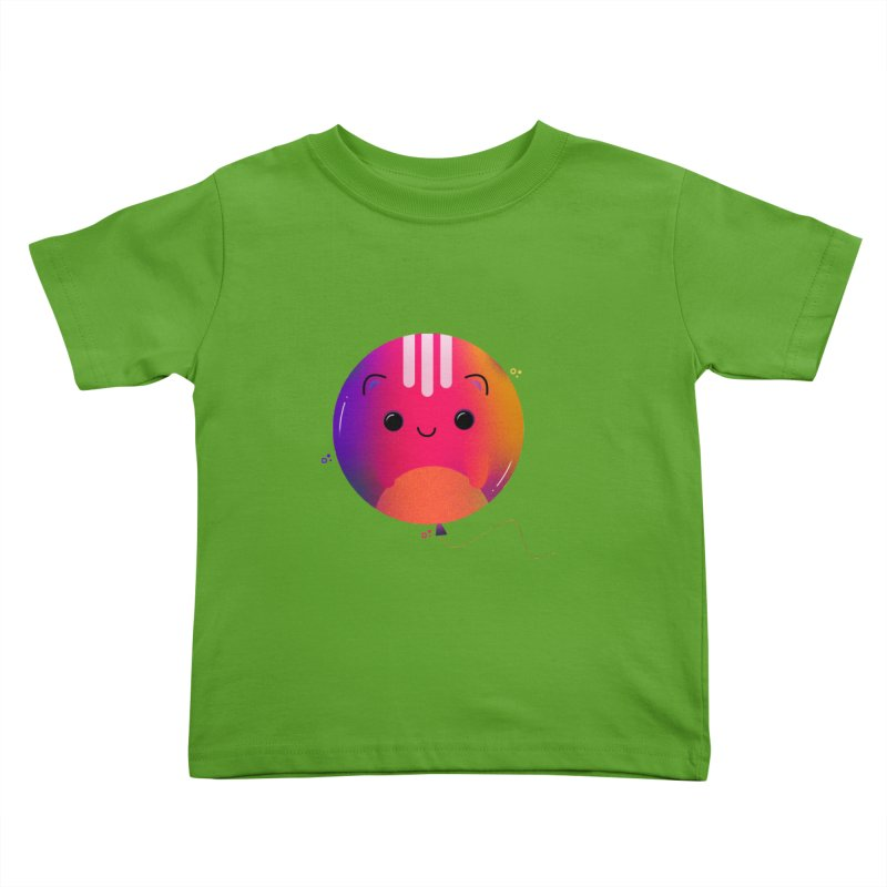 Cat Balloon Kids Toddler T-Shirt by theladyernestember's Artist Shop