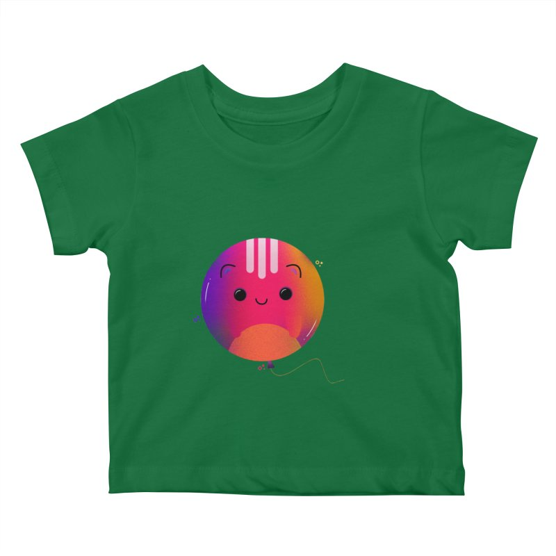 Cat Balloon Kids Baby T-Shirt by theladyernestember's Artist Shop