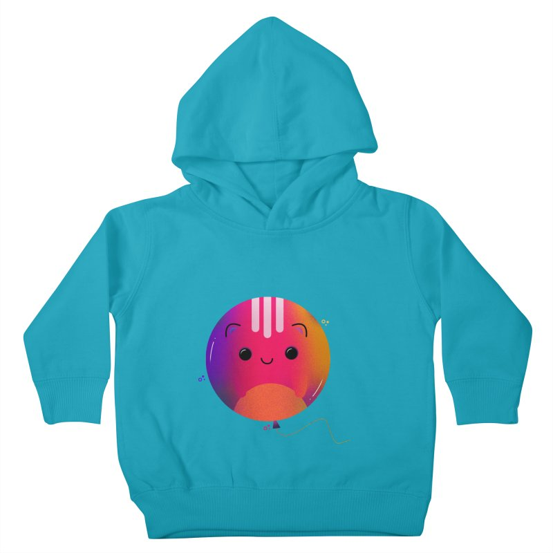 Cat Balloon Kids Toddler Pullover Hoody by the lady ernest ember's Artist Shop