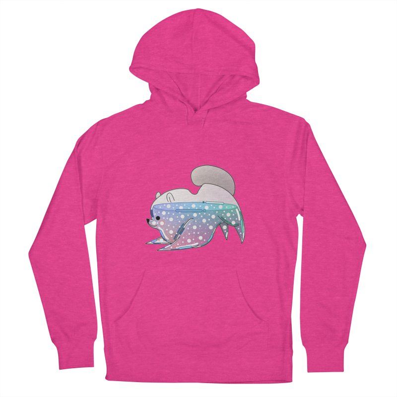 Dog Women's French Terry Pullover Hoody by theladyernestember's Artist Shop