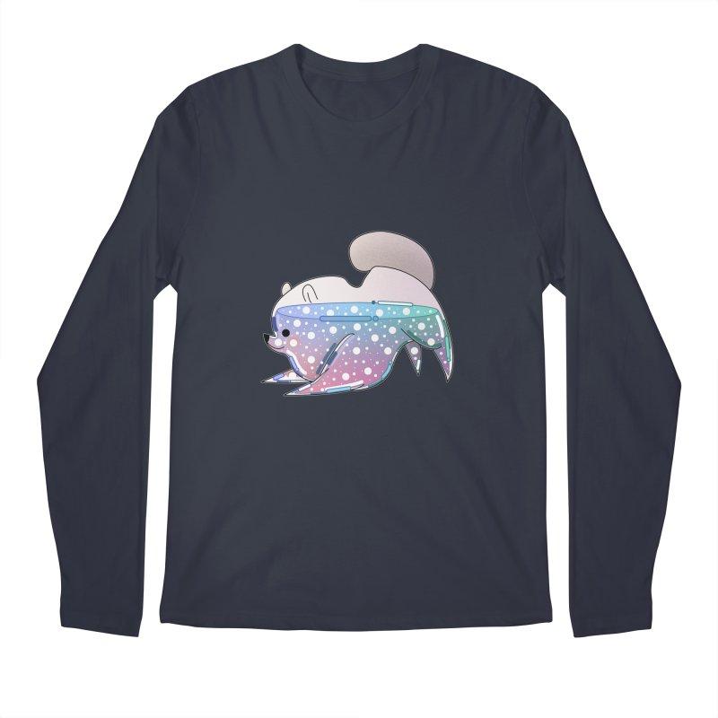 Dog Men's Regular Longsleeve T-Shirt by the lady ernest ember's Artist Shop