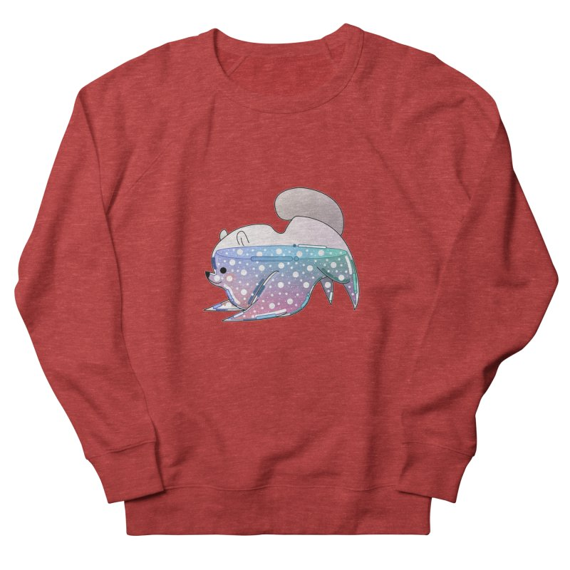 Dog Women's French Terry Sweatshirt by the lady ernest ember's Artist Shop