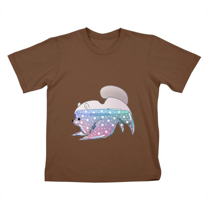 Dog Kids T-Shirt by theladyernestember's Artist Shop