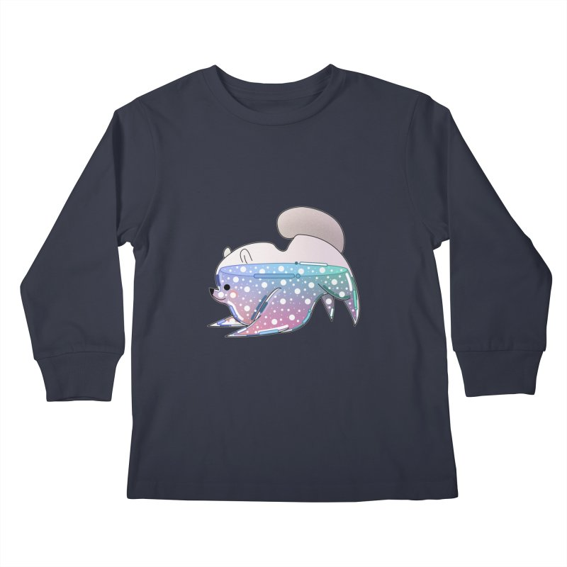 Dog Kids Longsleeve T-Shirt by theladyernestember's Artist Shop