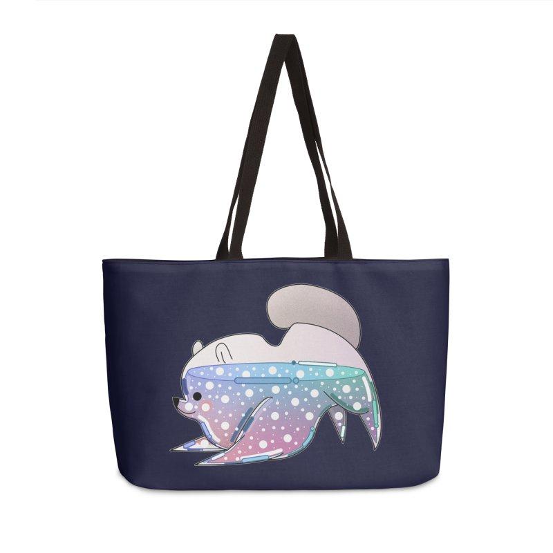 Dog Accessories Weekender Bag Bag by theladyernestember's Artist Shop