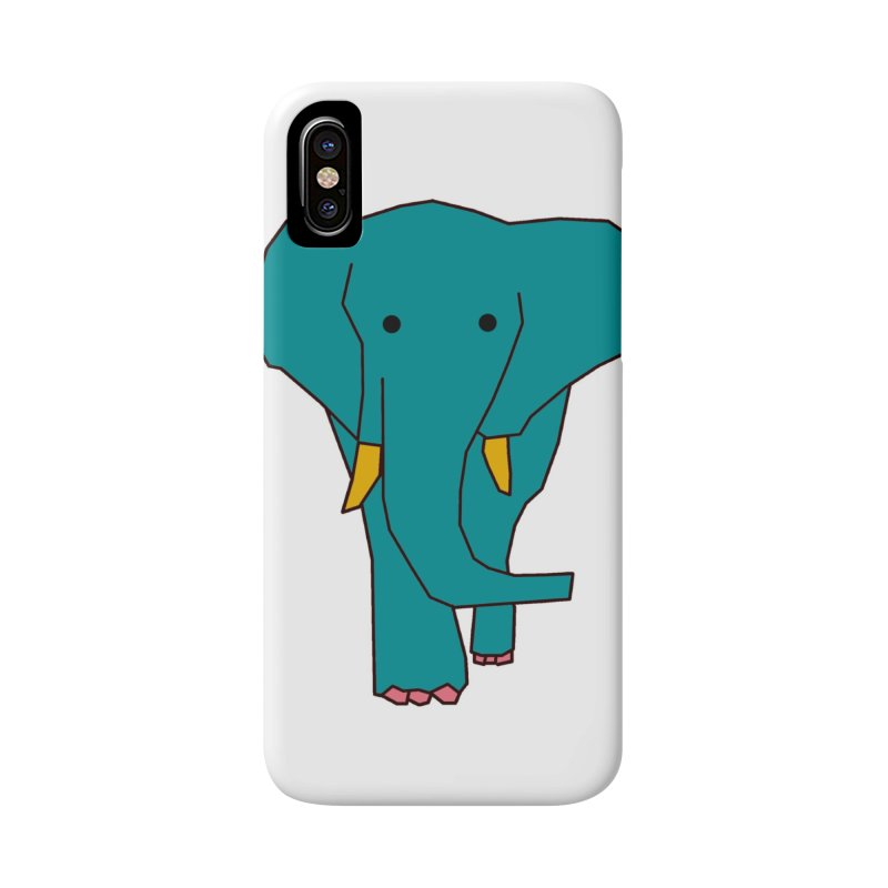 Elephant Accessories Phone Case by theladyernestember's Artist Shop