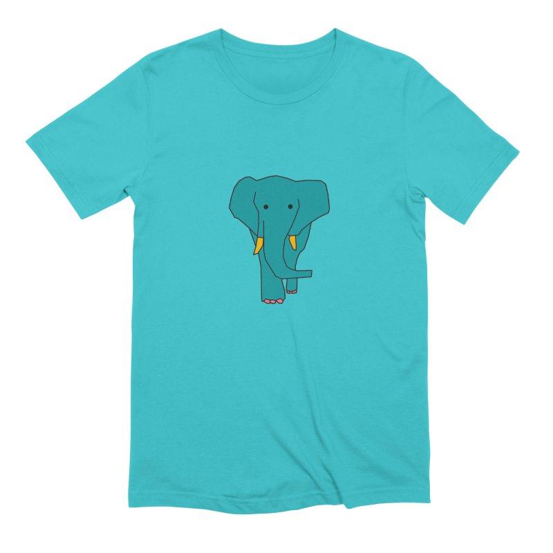 Elephant Men's Extra Soft T-Shirt by theladyernestember's Artist Shop