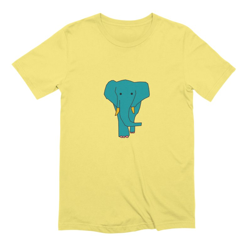 Elephant Men's Extra Soft T-Shirt by theladyernestember's Artist Shop