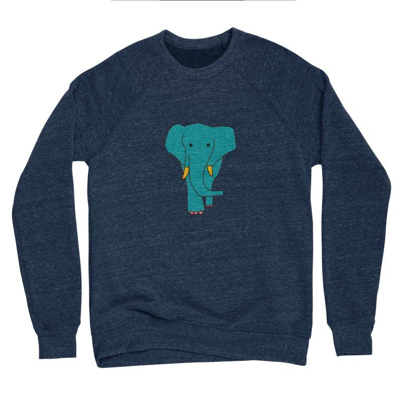 Elephant Women's Sponge Fleece Sweatshirt by theladyernestember's Artist Shop