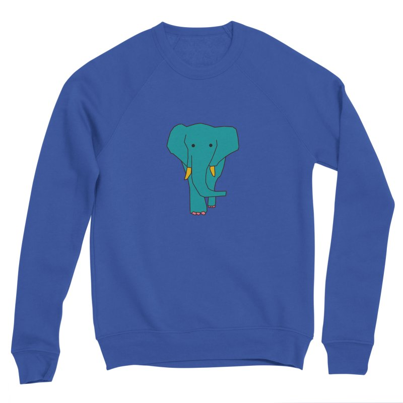 Elephant Men's Sweatshirt by theladyernestember's Artist Shop