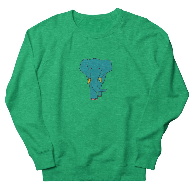 Elephant Women's Sweatshirt by theladyernestember's Artist Shop
