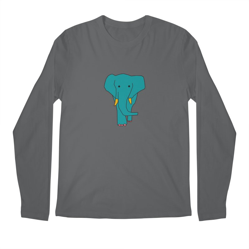 Elephant Men's Longsleeve T-Shirt by theladyernestember's Artist Shop