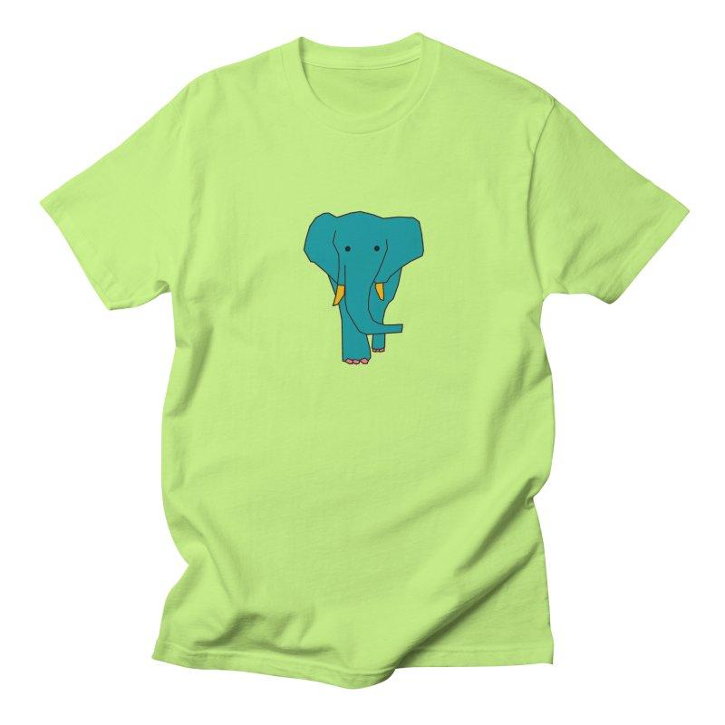 Elephant Women's Regular Unisex T-Shirt by theladyernestember's Artist Shop