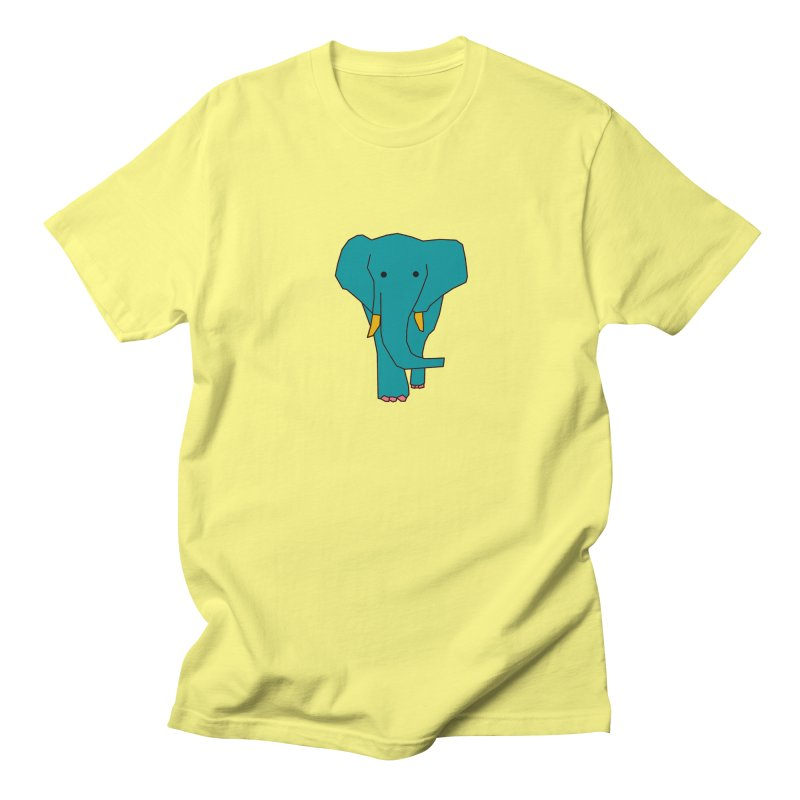 Elephant Women's Regular Unisex T-Shirt by the lady ernest ember's Artist Shop