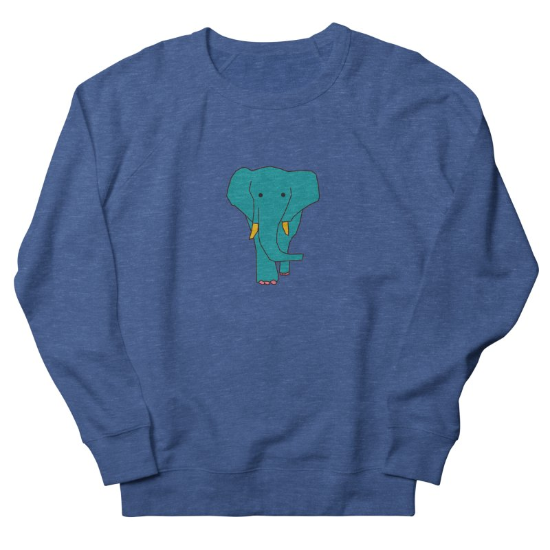 Elephant Women's French Terry Sweatshirt by theladyernestember's Artist Shop
