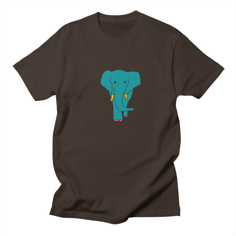 Elephant Men's Regular T-Shirt by the lady ernest ember's Artist Shop